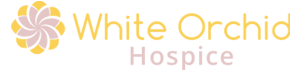 White Orchid Hospice Logo